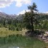 Lago Verde sull'Alpe di Fanes