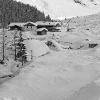 Villaggio nella neve