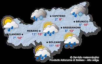Previsioni meteo 07.04.2012