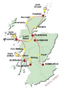 La Cartina Della Scozia.Cartina Della Scozia Gegeonline It